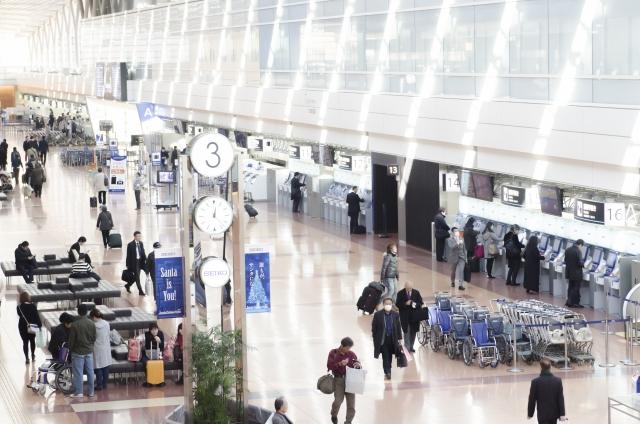 羽田空港からANAを利用すると料金はどのくらい?ターミナルの場所は?