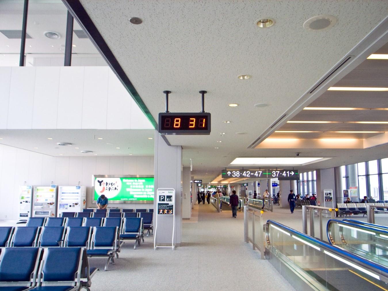 成田空港でのチェックイン方法