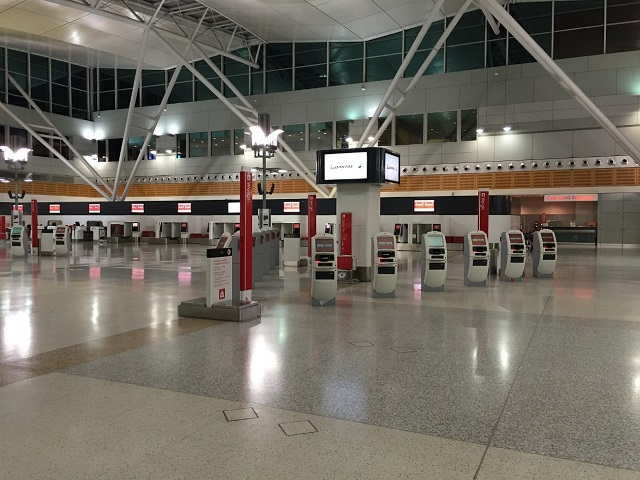 >成田空港から出発するときの手順