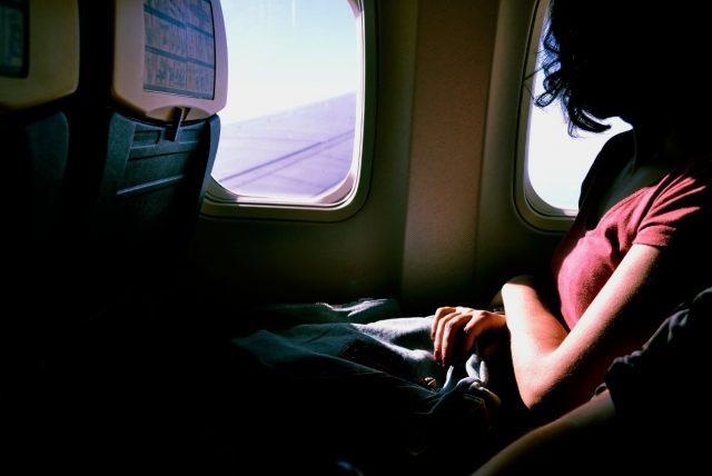 一番揺れない席は主翼から少し前のあたり