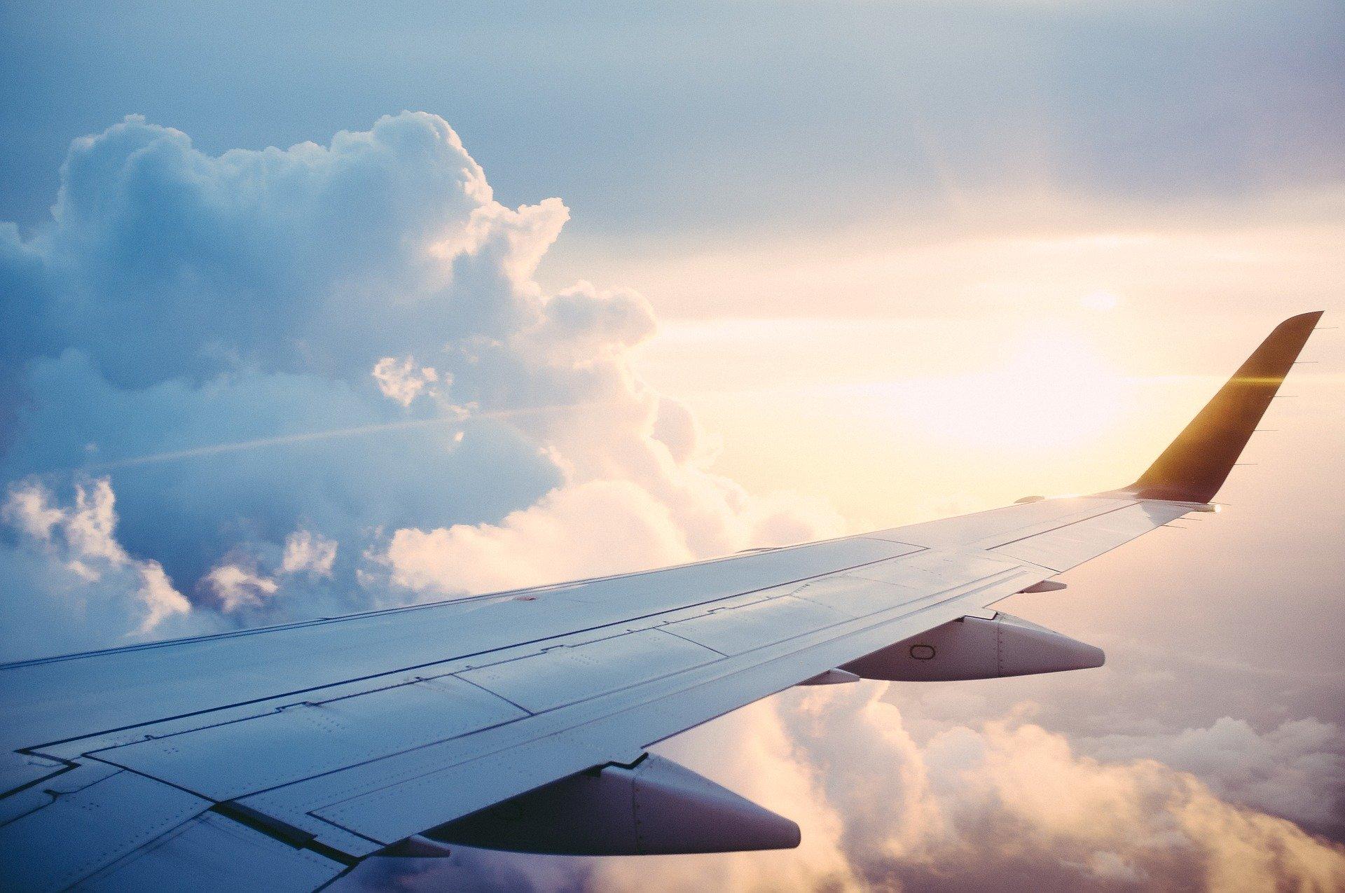 飛行機 乗る
